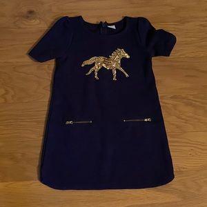 4/$19❗️Gymboree sequin horse print dress